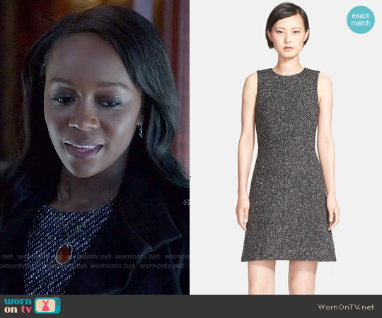 Theory Raneid Dress worn by Aja Naomi King on HTGAWM