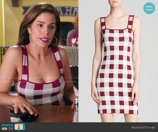 Theory Sarneel Stonemarl Dress worn by Ana Ortiz on Devious Maids