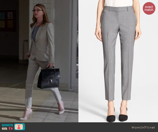 Theory Testra 2b Pants worn by Emily VanCamp on Revenge
