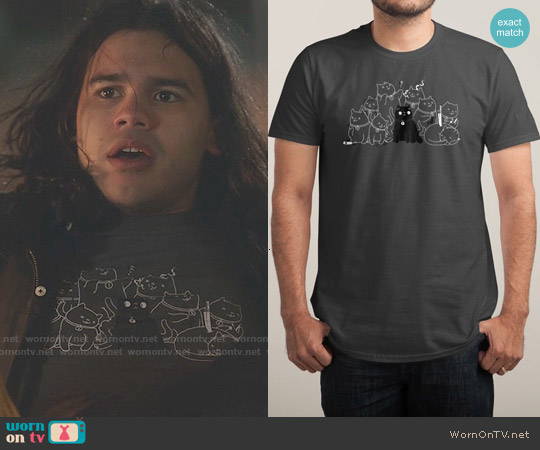 Threadless 8 Down, 1 To Go T-shirt worn by Carlos Valdes on The Flash