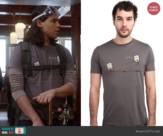 Threadless Bully Tee worn by Carlos Valdes on The Flash