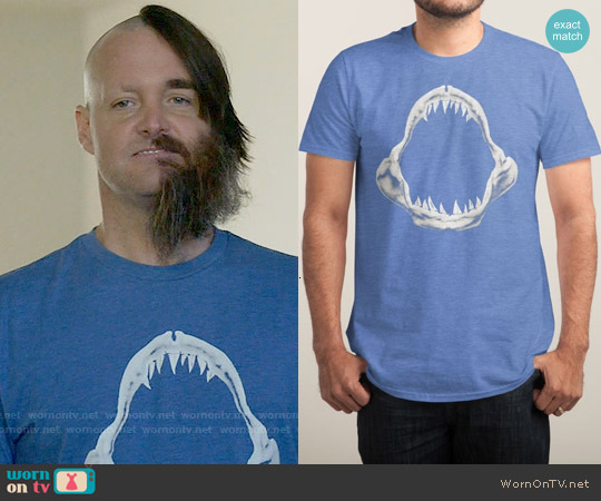 Threadless Doom Regatta T-shirt worn by Will Forte on Last Man On Earth