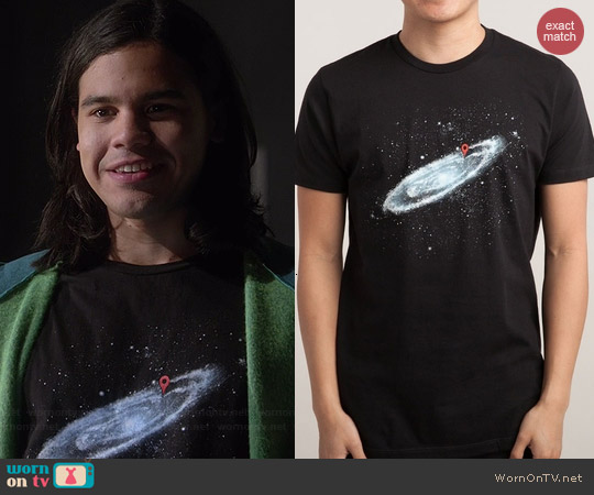 Threadless Last Night Tee worn by Carlos Valdes on The Flash