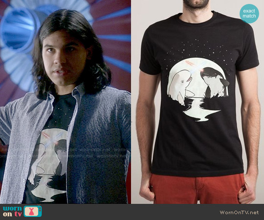 Threadless Nar Wars Tee worn by Carlos Valdes on The Flash