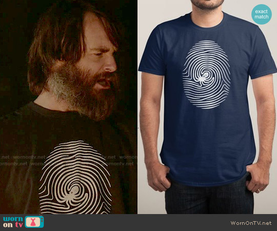 Threadless Octo-Print T-shirt worn by Will Forte on Last Man On Earth
