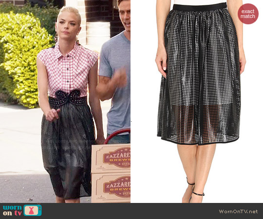 Tibi Pavement Skirt worn by Lemon Breeland on Hart of Dixie