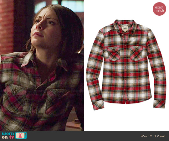 TNA Banff Shirt worn by Thea Queen on Arrow