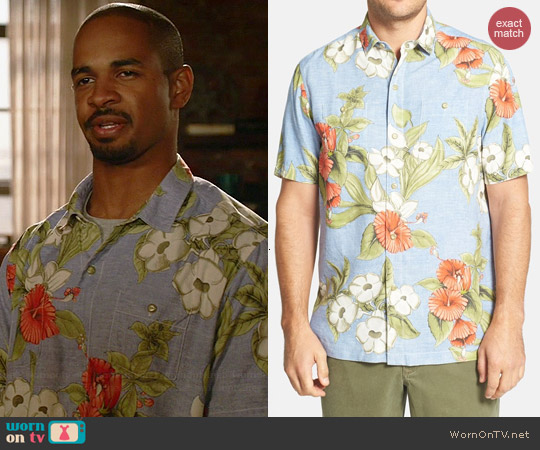 Tommy Bahama Floral Persuasion Shirt worn by Damon Wayans Jr on New Girl