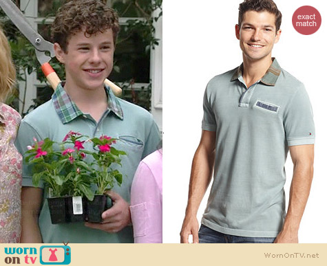 Tommy Hilfiger Eastham Polo worn by Nolan Gould on Modern Family