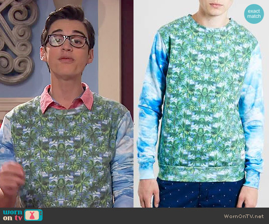 Hype Oasis Sweater worn by Joey Bragg on Liv & Maddie