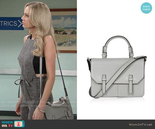 Topshop Medium Clean Satchel worn by Abby Newman on The Young & the Restless