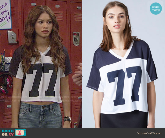 worn by K.C. Cooper (Zendaya) on KC Undercover
