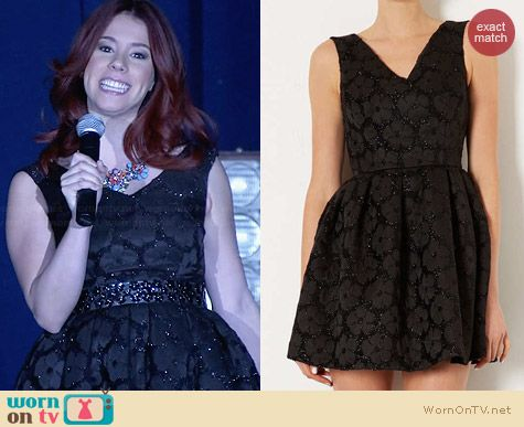 Topshop Flower Fluff Prom Dress worn by Jillian Rose Reed on Awkward