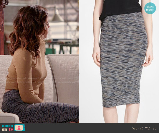 Topshop Space Dye Tube Skirt worn by Marisol Duarte on Devious Maids