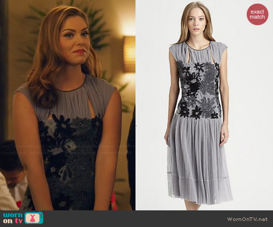 Tory Burch Faith Dress worn by Kaitlyn Black on Hart of Dixie