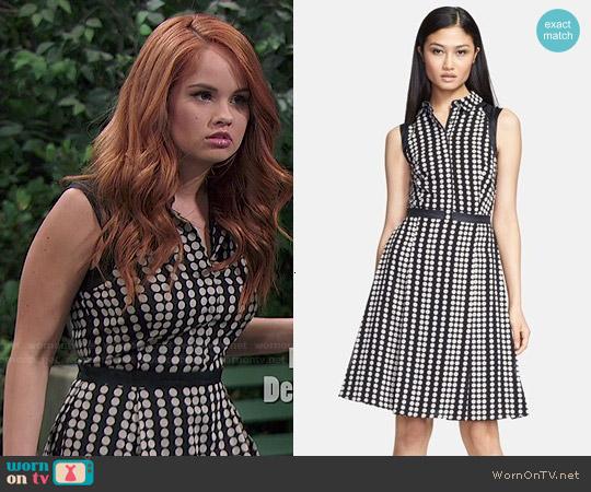 Tory Burch Katy Dress worn by Debby Ryan on Jessie