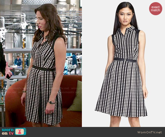 Tory Burch 'Katy' Dress worn by Michaela Conlin on Bones