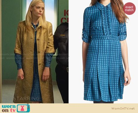 Tory Burch Kim Shirtdress worn by Jaime King on Hart of Dixie
