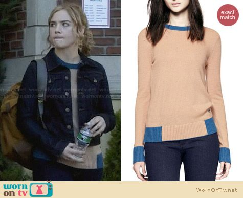 Tory Burch Mandy Sweater worn by Maddie Hasson on Twisted