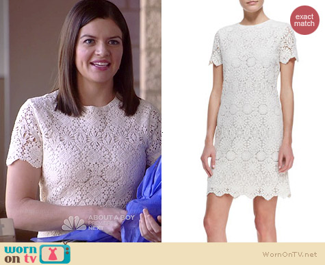 Tory Burch Trixy Dress worn by Casey Wilson on Marry Me