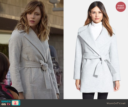 Trina Turk Beverly Coat worn by Katherine McPhee on Scorpion