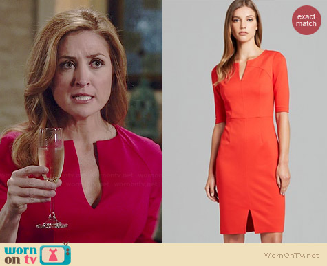 Trina Turk Danton Dress worn by Sasha Alexander on Rizzoli & Isles