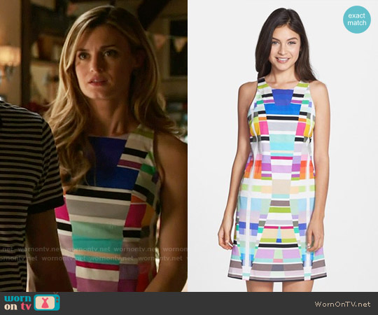 Trina Turk Loma Dress worn by Brooke D'Orsay on Royal Pains