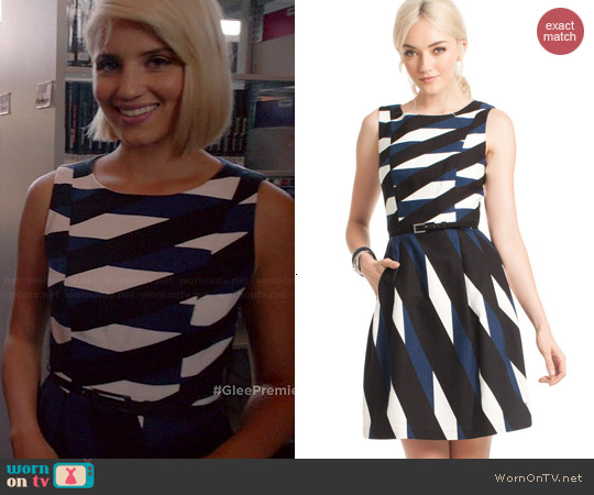 Trina Turk Medina Dress worn by Dianna Agron on Glee