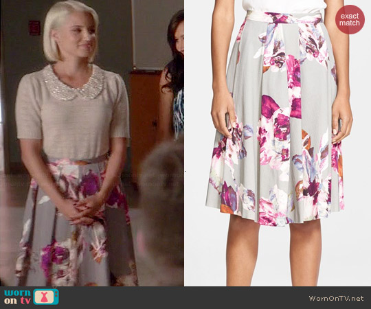 Trina Turk Millan Skirt worn by Dianna Agron on Glee