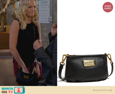 Trophy Wife Bags: Marc by Marc Jacobs Classic Q Percy Bag worn by Malin Akerman