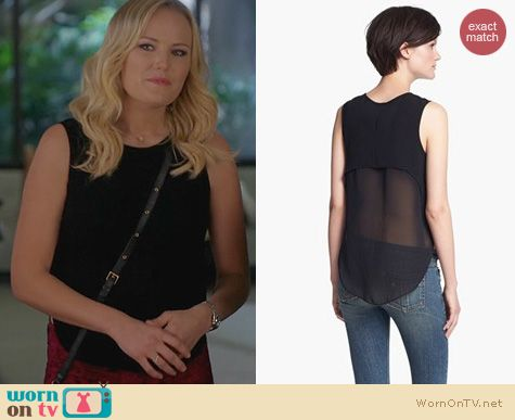 Trophy Wife Fashion: Rag & Bone Fleet Tank worn by Malin Akerman