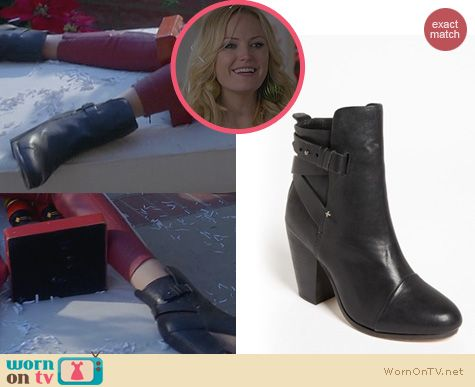 Trophy Wife Shoes: Rag & Bone Kinsey Boots worn by Malin Akerman