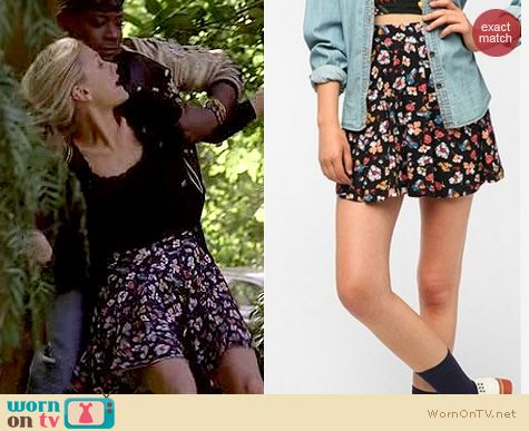 True Blood Fashion: Urban Outfitters Pins and Needles floral circle skirt