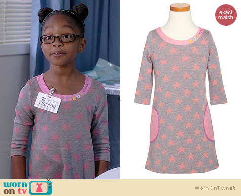 Truly Me Star Shift Dress worn by Marsai Martin on Black-ish