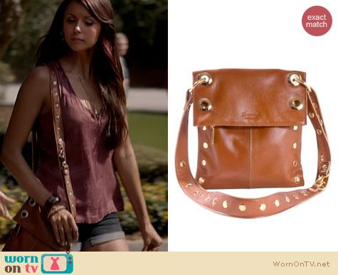 TVD Fashion: Hammitt Montana bag in Cognac worn by Nina Dobrev
