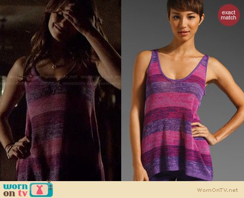 TVD Fashion: Trina Turk Rasa Tank worn by Nina Dobrev