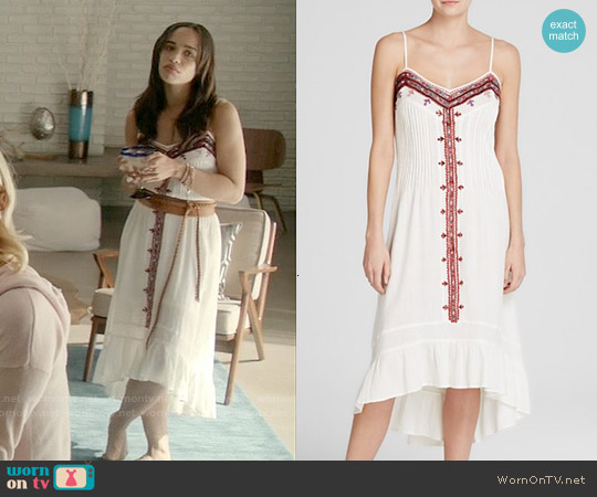 Twelfth Street by Cynthia Vincent Embroidered Western Dress worn by Cleopatra Coleman on Last Man On Earth