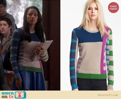 Twisted Fashion: Marc by Marc Jacobs Drew sweater worn by Kylie Bunbury