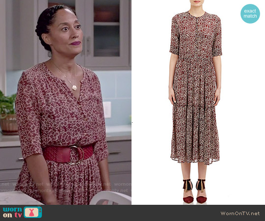 Ulla Johnson Majorelle Dress worn by Tracee Ellis Ross on Blackish