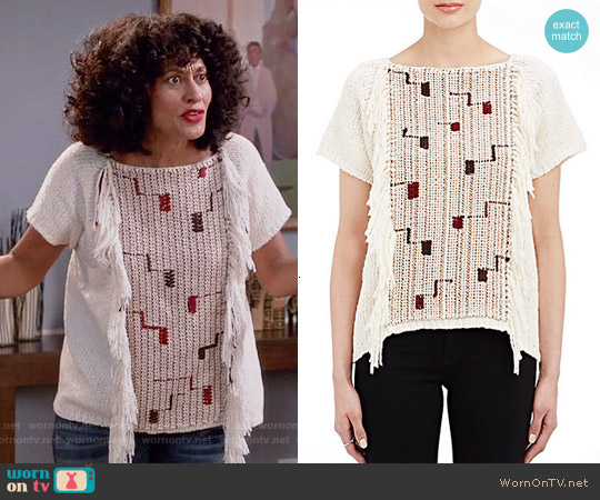 Ulla Johnson Pippa Sweater worn by Tracee Ellis Ross on Blackish