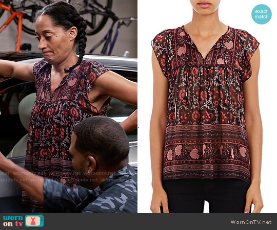 Ulla Johnson Kosta Top worn by Tracee Ellis Ross on Blackish