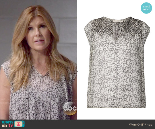 Ulla Johnson Tilda Blouse worn by Connie Britton on Nashville