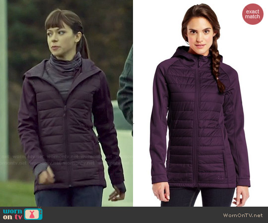 Under Armour ColdGear Infrared Werewolf Insulated Jacket in Velvet/Velvet worn by Tatiana Maslany on Orphan Black