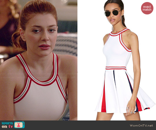 Unif Squad Dress worn by Elena Satine on Revenge