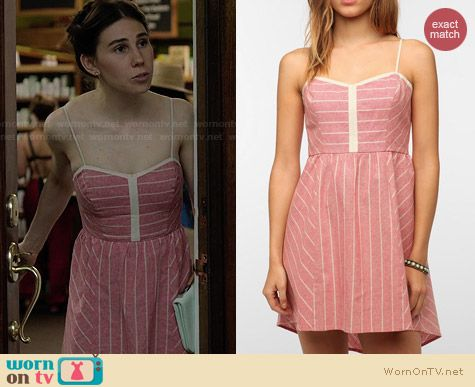 Urban Outfitters COPE Linen Sundress worn by Zosia Marmet on Girls
