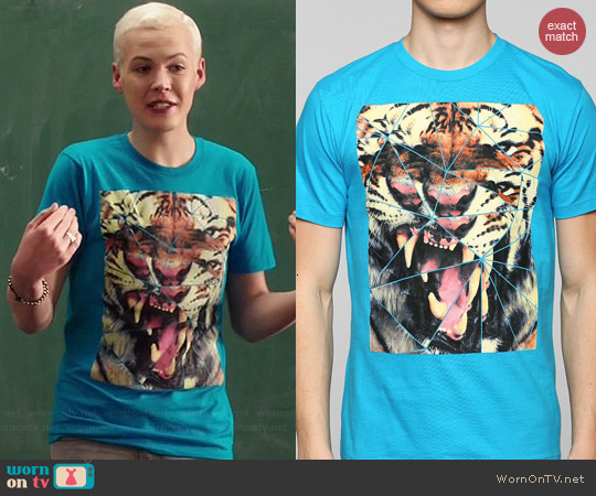 Urban Outfitters Tiger Pieces Tee worn by Lyle Lettau on Degrassi: The Next Generation