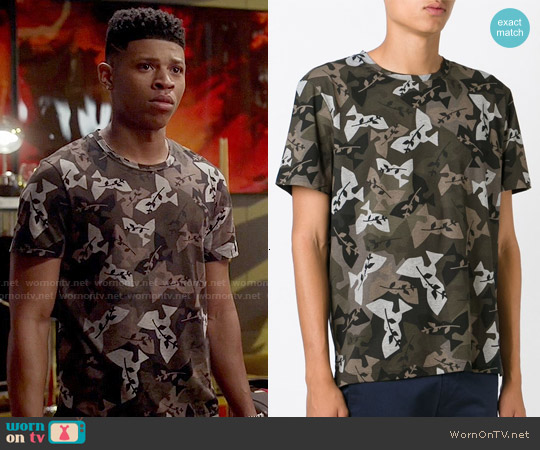 Valentino Rockstud Printed T-shirt worn by Bryshere Y. Gray on Empire