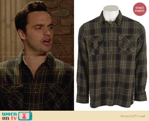 Vans Birch Shirt worn by Jake Johnson on New Girl