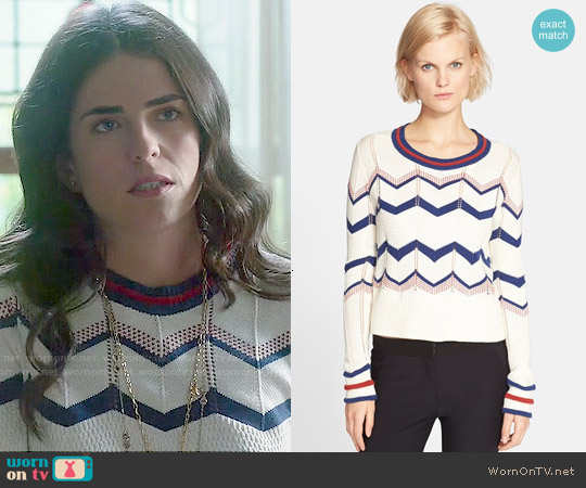 Veronica Beard 'Kindling' Sweater worn by Karla Souza on HTGAWM