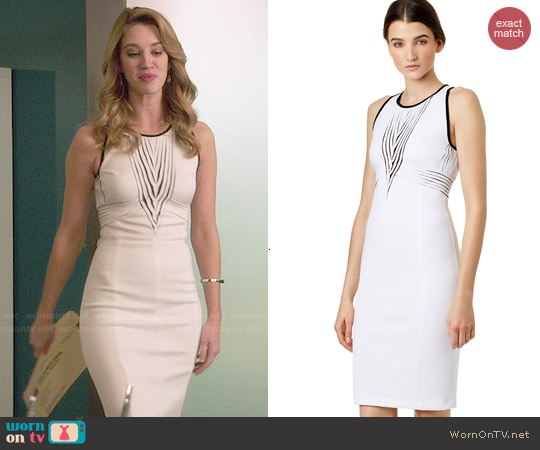 Versace Collection Basic Space Sheath worn by Yael Grobglas on Jane the Virgin